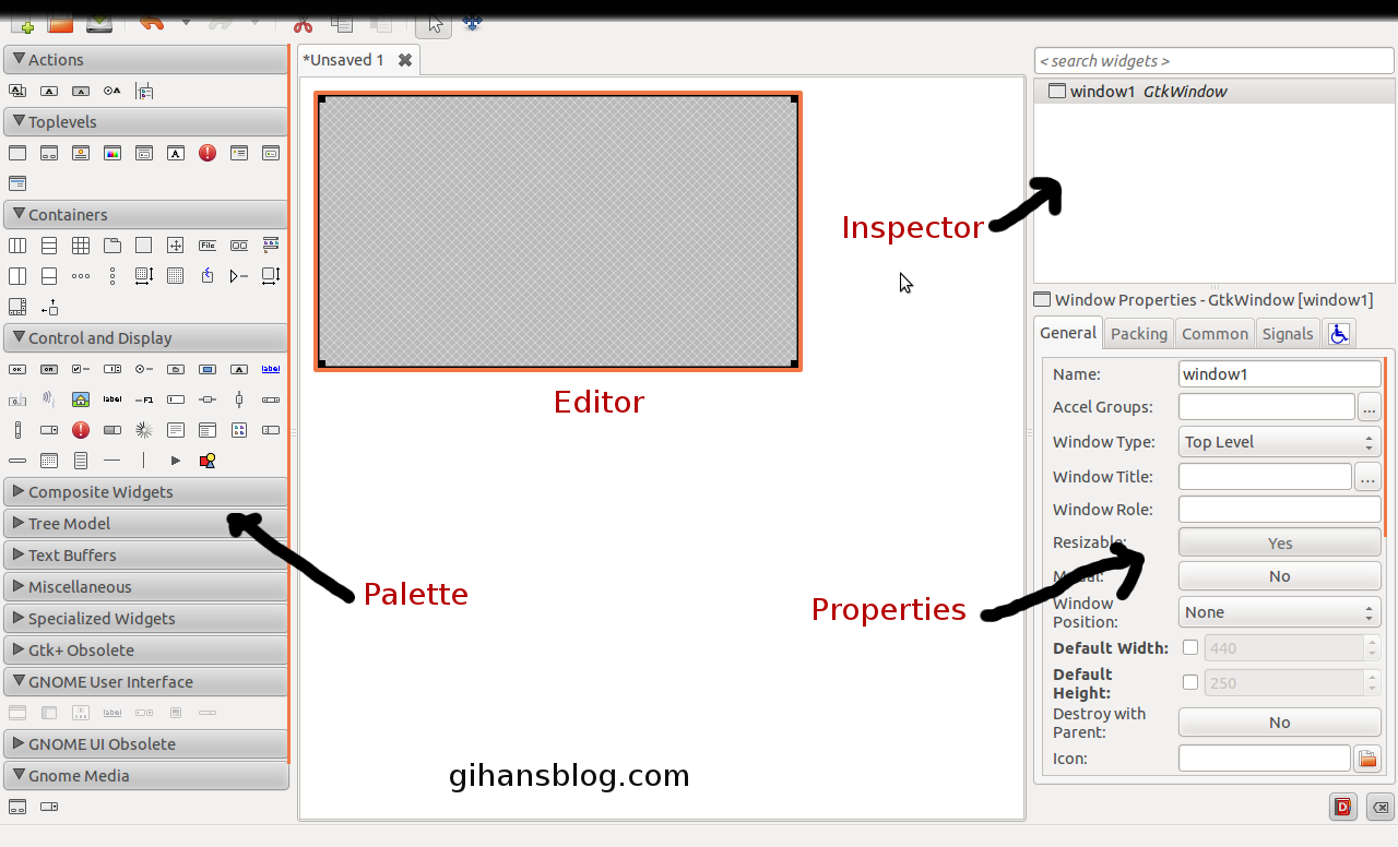 How to create a guigraphical user interface using c programming open glade baditri Gallery
