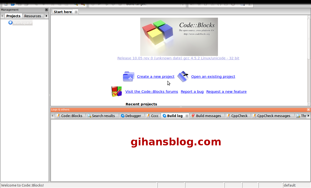 Code blocks gihan 39 s blog Code compiler
